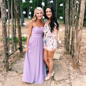 purple/lilac Alfred Angelo formal/bridesmaid dress